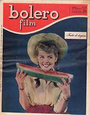 rivista fotoromanzo - BOLERO - Anno 1951 Numero 223 FRUTTO DI STAGIONE