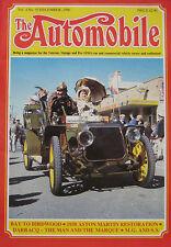 The Automobile magazine Vol.4, No.10 12/1986 featuring Aston Martin, Darracq