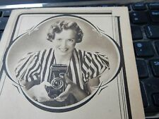 JOHN SAVILLE KODAK DEALER YORK ART DECO FOLDER FOLIO  CAMERA PHOTOGRAPHER