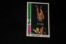 HOF DAN ISSEL 1976-77 TOPPS SIGNED AUTOGRAPHED CARD #94 NUGGETS