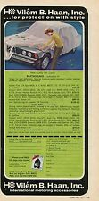1977 Print Ad of Vilem B. Haan Quality Car Covers Weathergard & Sungard on BMW