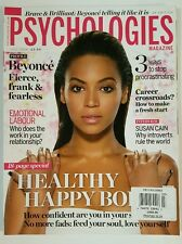 Psychologies UK Magazine Beyonce Healthy Happy Career July 2016 FREE SHIPPING