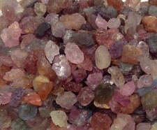 LOT OF 100 CTS.(APPROX.) ROUGH NATURAL MULTICOLOR RED SPINEL GEMSTONE UNHEATED