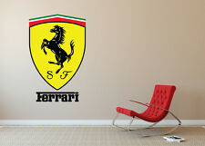 Ferrari Wall Decal Sticker Modern Art Decorative Lounge Bedroom EXTRA LARGE