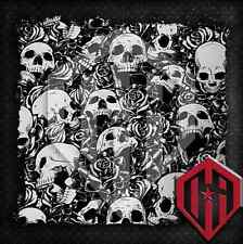 HYDROGRAPHIC WATER TRANSFER HYDRODIPPING FILM SKULLS HYDRO DIP GRAPHIC SKULL