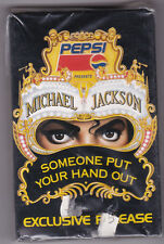 Michael Jackson ‎ Someone Put Your Hand Out  Musikkassette NEU + OVP