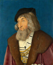 Oil painting hans baldung - Portrait of a Man free shipping cost for all buyers
