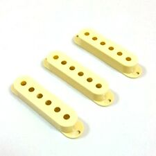 Montreux Single Coil Cover - Worn Yellow - Fits to Strat ®