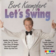 Bert Kaempfert Let 's Swing (tuxrdo Junction, Easy Glider, Perdido) CD