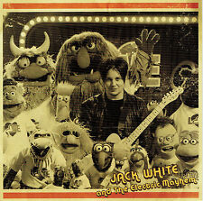 """JACK WHITE & MUPPETS 'Sunshine of My Life 7"""" Black Record Store Day 2016 Stripes"""