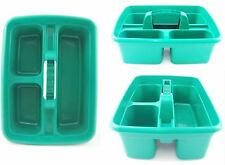 DELUXE CLEANER CARRY ALL TOTE TRAY HANDY STORAGE TOOL BOTTLE BASKET CADDY GREEN