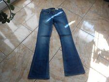 H8339 g-Star Bell cut WMN jeans w27 l32 azul medio bien