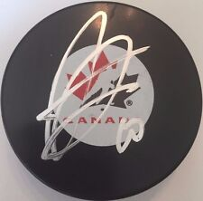 ANTHONY DUCLAIR SIGNED TEAM CANADA HOCKEY PUCK COYOTES W/CASE COA