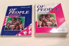 A Beka Grade 7, Of People Literature, Student Text, Teacher's Guide Book Lot 2