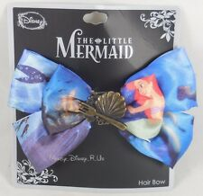 Disney The Little Mermaid Ariel Castle Charm Cosplay Hair Bow Pin Clip Costume