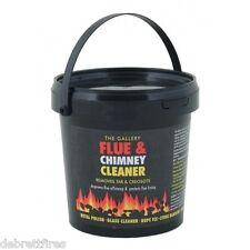 Flue Free Chimney Cleaner protector for coal wood fires log burner stoves 750g