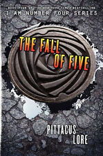 The Fall of Five by Pittacus Lore (book 4 of Lorien Legacies) (Hardcover ) BAM