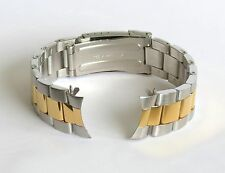 20mm Curved End Stainless Steel TwoTone Bracelet FITS Invicta 8928OB 8928 OB