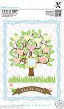 Docrafts Xcut 15 piece A5 sheet FAMILY TREE die set use X cut Sizzix eBosser etc