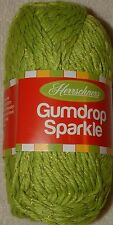 Herrschners Gumdrop Sparkle Yarn - Bag of 4 - Lime #1002 - FREE SHIPPING