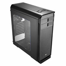 Mid Tower Case Aerocool AERO-500 Black With Window Card Reader Computer EN55514