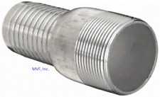 "ALUMINUM HOSE BARB KC KING COMBINATION NIPPLE 2"" NPT FOR 2"" ID HOSE  SF200A"