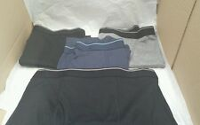 Brand New Boxer Shorts x 5 Kirkland Signature - Size Medium Black/Grey/Blue