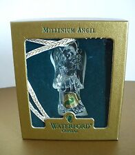 Waterford Crystal Glass Millenium Angel of Hope Christmas Ornament. Ireland