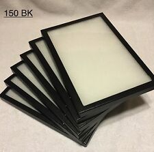 "6-150 Riker Mount Display Case Shadow Box Frame Tray   12"" X 8"" X 3/4"""