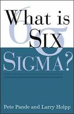 What Is Six Sigma?,GOOD Book