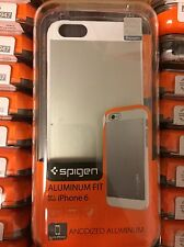 Lot of 100 Spigden Cell Phone Case for Apple iPhone 6 or 6s Silver Phone Cases