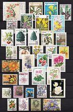 101426/ Blumen und Pflanzen - schönes Lot - o - nichts gerechnet - siehe scan