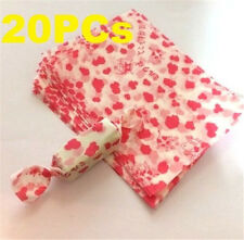 Candy Pink Calf Wrapping Waxed Waterproof Paper Baking Decor 20PCs ☆