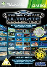 Sega Mega Drive Ultimate Collection para Xbox 360 PAL (nuevo Y Sellado)
