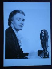 POSTCARD WOMEN WHO DARED - DOROTHY THOMPSON AMERICAN JOURNALIST