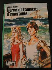 Cécile Aubry -B.Verte 1975- Hervé et l'Anneau d'Emeraude