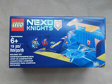 NEW BOXED LEGO SET NEXO KNIGHTS BATTLE STATION FOLDS OUT +BASE PLATE MAP CARDS