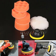 7pcs 3 inch Polishing Sponge Buffer Pad M14 Drill Adapter Kit For Car Auto OE