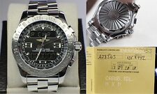 BREITLING PROFESSIONAL AIRWOLF A78363 44MM STAINLESS STEEL WITH PAPERWORK