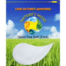 Nature's Mojo Dead Sea Salt (Fine) 100G