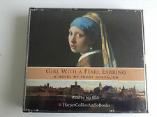 Girl with a Pearl Earring by Tracy Chevalier (CD-Audio, 2003) 3 CD SET - MINT
