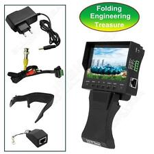 "4.3"" TFT LCD Handy CCTV Camera Audio Video Security Tester Cable Test Monitor"
