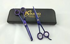 "Professional Hairdressing Hair Cutting Barber Scissors  Razor Edge 6.5"" 440c"