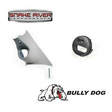 BULLY DOG PILLAR MOUNT WITH ADAPTER 10-16 DODGE RAM 1500 2500 3500 LEATHER DASH
