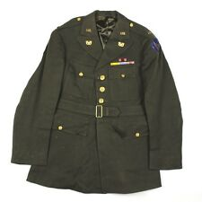 ORIGINAL USAAF / US ARMY AIR FORCES WARRANT OFFICER DRESS JACKET VELVET AC PATCH