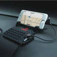 Car Holder Stand Mount USB Charger Charging Cradle Non-Slip Pad for Phone