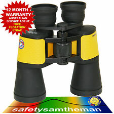 SURF LIFE SAVING WATERPROOF MARINE 7X50 CENTRE FOCUS BINOCULAR FREE FLOAT STRAP
