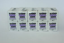 Ilford Delta 3200 35mm Film 36 exp (10 Pack)