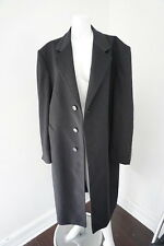 Burberry London Men's Long Cashmere & Wool Classic Winter Coat Size 40R