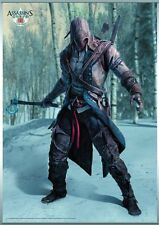 "ASSASSINS CREED III HANGING WALL SCROLL CONNOR KENWAY 30"" x 41"" #sjan17-14"